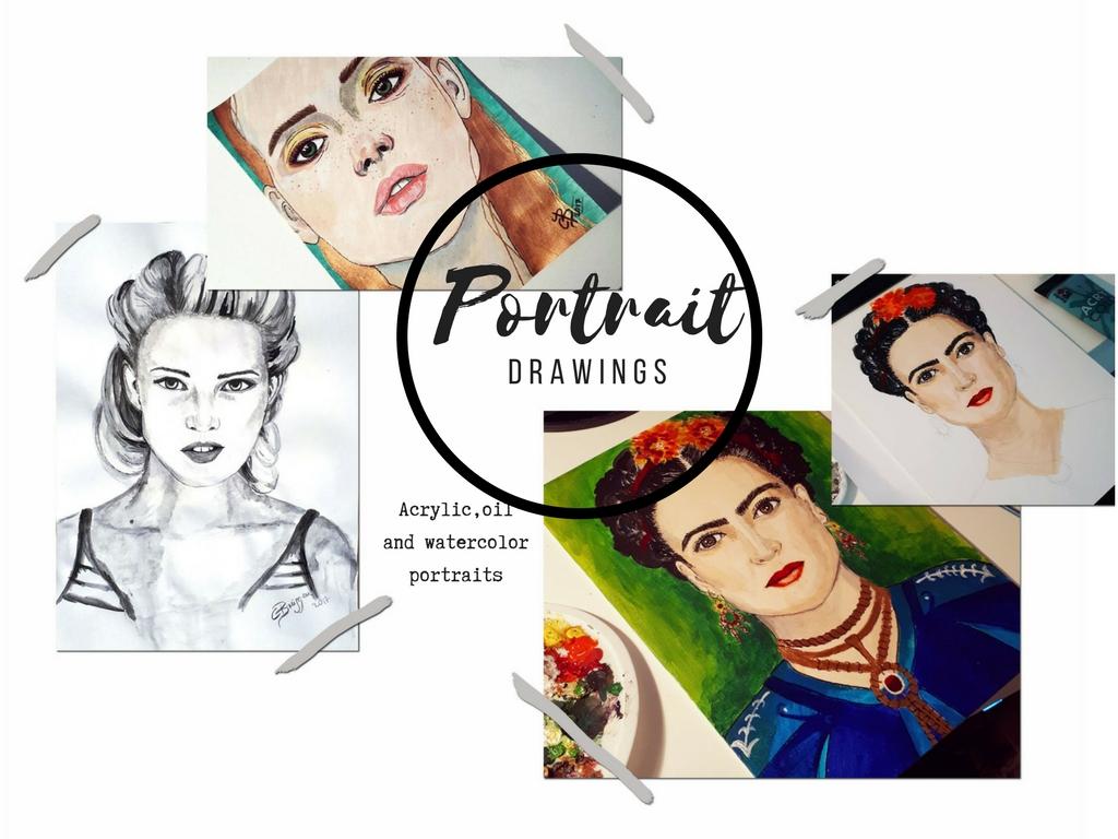 Portraitzeichnungen